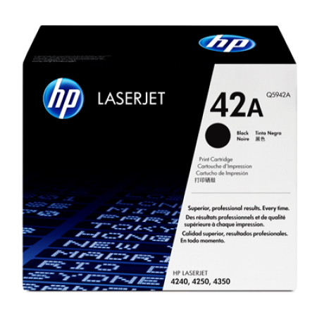 HP 42A Q5942A Black Toner Cartridge