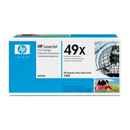 HP 49X Q5949X Toner Cartridge Black Original High Capacity