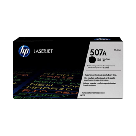 HP 507A CE400A Black Toner Cartridge
