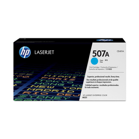 HP 507A CE401A Cyan Toner Cartridge