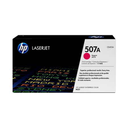 HP 507A CE403A Magenta Toner Cartridge