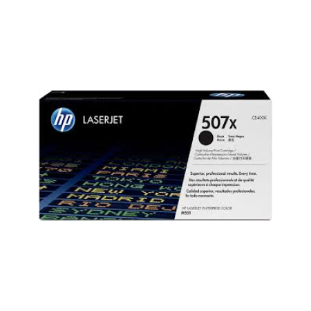 HP 507X CE400X Black High Capacity Toner Cartridge