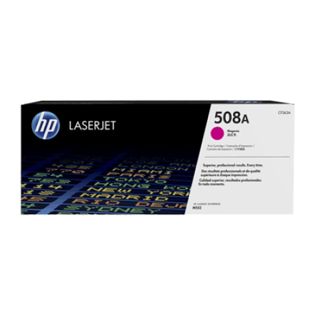 HP 508A CF363A Magenta Toner Cartridge