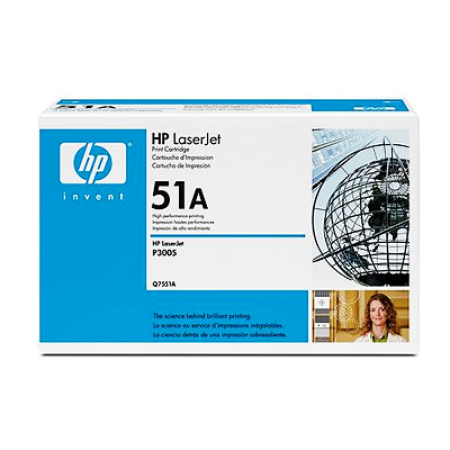 HP 51A Q7551A Black Toner Cartridge