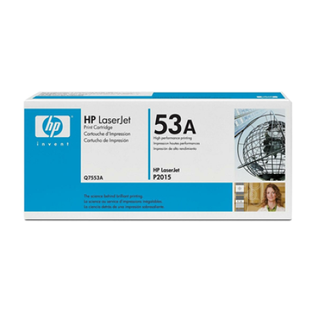 HP 53A Q7553A Black Toner Cartridge