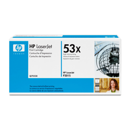 HP 53X Q7553X Black Toner Cartridge