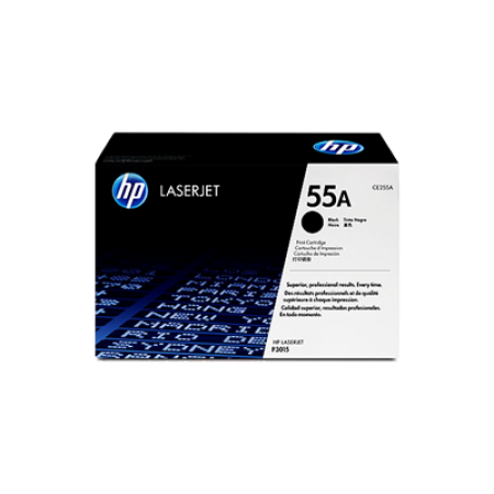 HP 55A CE255A Toner Cartridge Black Original