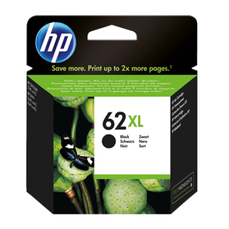 HP 62XL Ink Cartridge Black Original 12ml