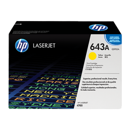 HP 643A Q5952A Yellow Toner Cartridge