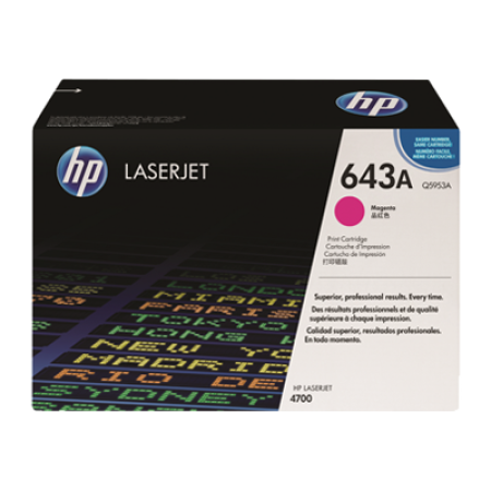 HP 643A Q5953A Magenta Toner Cartridge