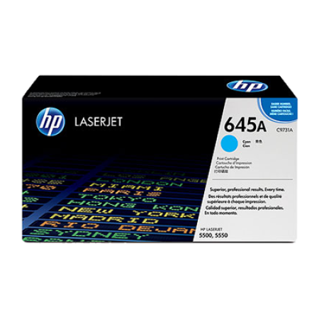 HP 645A C9731A Cyan Toner Cartridge