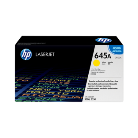 HP 645A C9732A Yellow Toner Cartridge