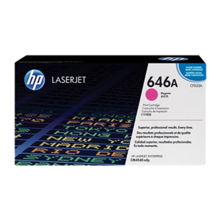 HP 646A CF033A Magenta Toner Cartridge