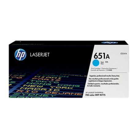 HP 651A CE341A Cyan Toner Cartridge