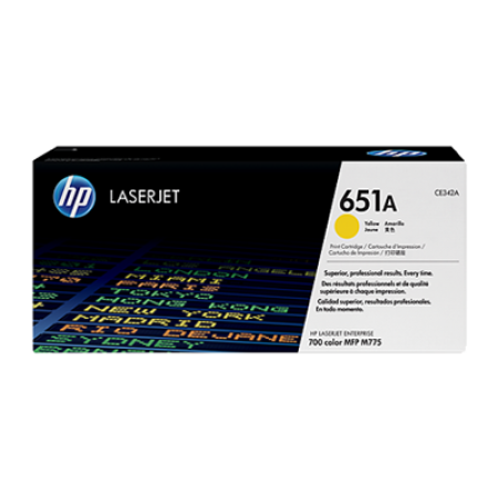 HP 651A CE342A Yellow Toner Cartridge
