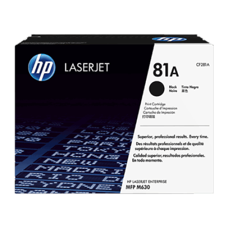 HP 81A CF281A Black Toner Cartridge