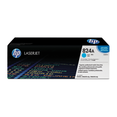 HP 824A CB381A Cyan Toner Cartridge