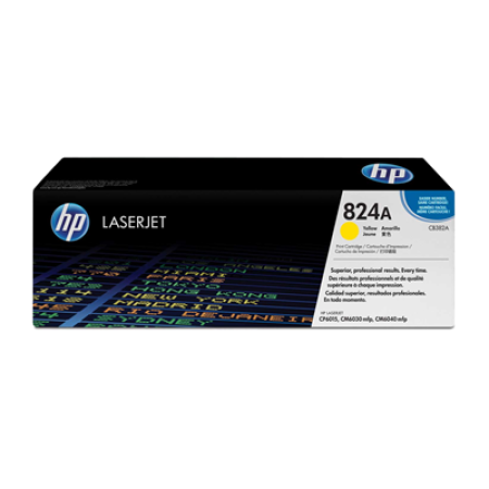 HP 824A CB382A Yellow Toner Cartridge