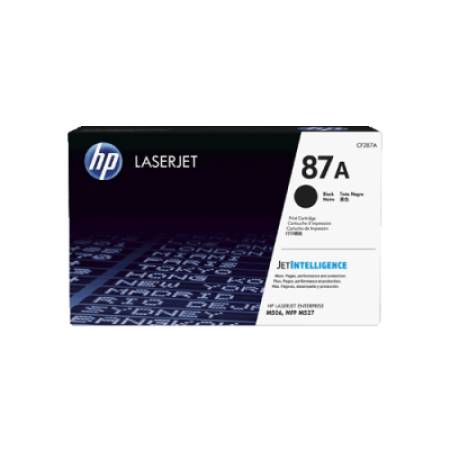 HP 87A CF287A Black Toner Cartridge