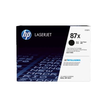 HP 87X CF287X Black Toner Cartridge