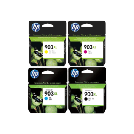HP 903XL Multipack Ink Cartridges Original BK/C/M/Y