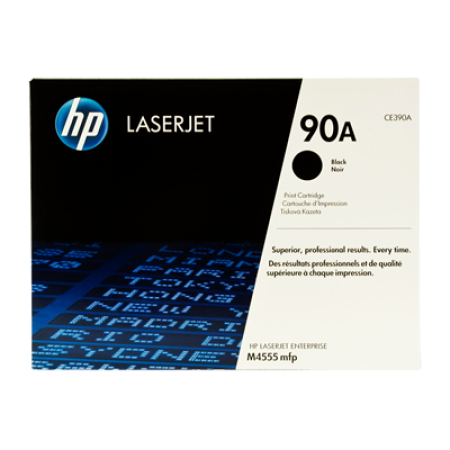 HP 90A CE390A Black Toner Cartridge