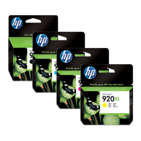 HP 920XL Multipack Ink Cartridges BK/C/M/Y Original