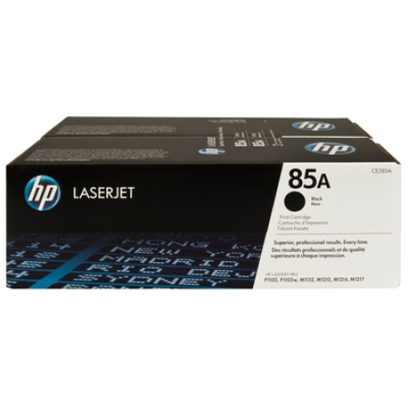 HP CE285AD Toner Cartridge Twin Multipack Black Original