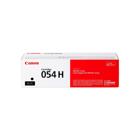 Canon 054H High Capacity Black Toner Cartridge - 3028C002