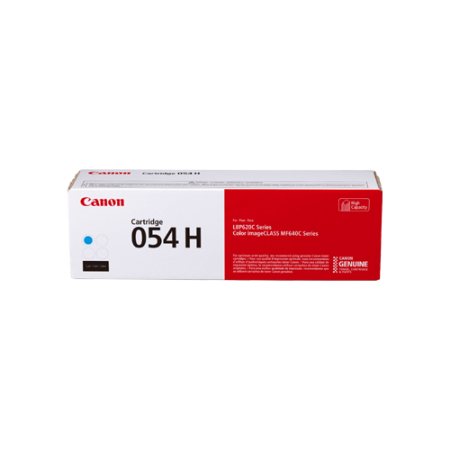 Canon 054H High Capacity Cyan Toner Cartridge - 3027C002