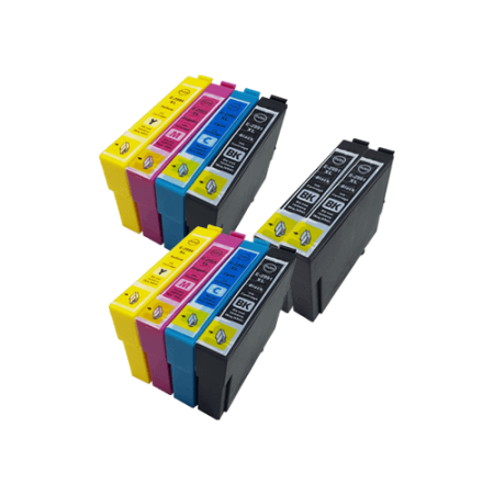 Compatible Epson 29XL Ink Cartridge TWIN Multipack + 2 FREE Black Ink [10 Pack] BK/C/M/Y