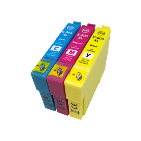 Compatible Epson 603XL Ink Cartridge Colour Pack [3 Pack] C/M/Y High Capacity