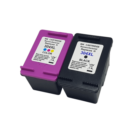 Compatible HP 304XL Black + Colour Ink Cartridge Multipack BK/C/M/Y