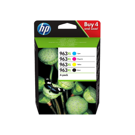 HP 963XL Multipack Ink Cartridges BK/C/M/Y Original