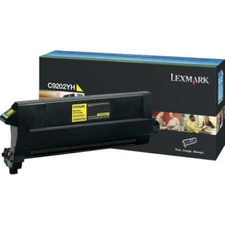 Lexmark 00C9202YH Yellow Toner Cartridge