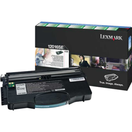 Lexmark 12016SE Return Program Black Toner Cartridge