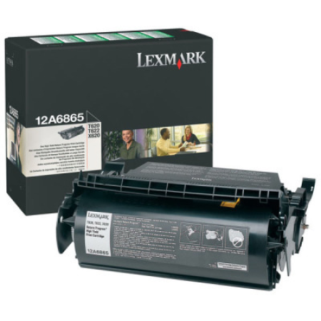 Lexmark 12A6865 High Yield Black Return Toner Cartridge