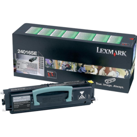 Lexmark 24016SE Black Return Toner Cartridge