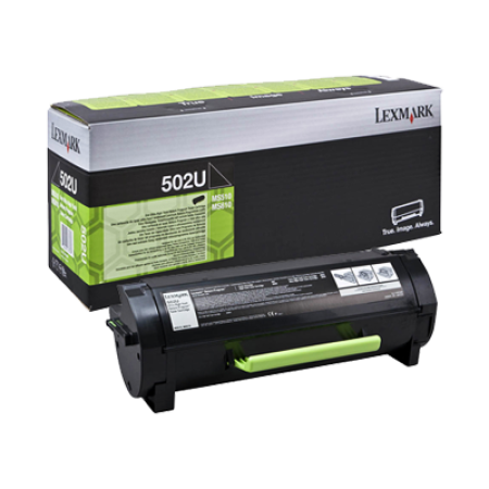 Lexmark 502U Black Ultra High Capacity Toner Cartridge