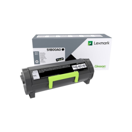 Lexmark 51B00A0 Black Toner Cartridge