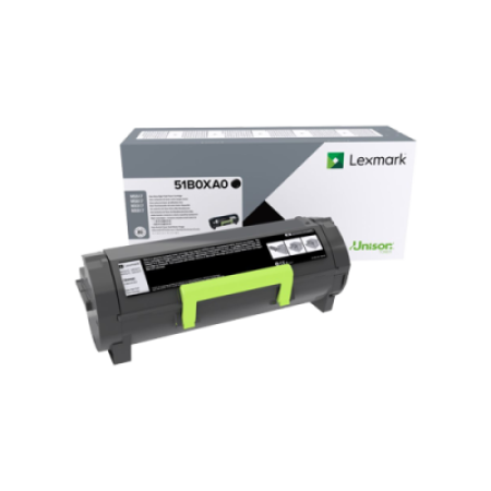 Lexmark 51B0XA0 Extra High Capacity Black Toner Cartridge