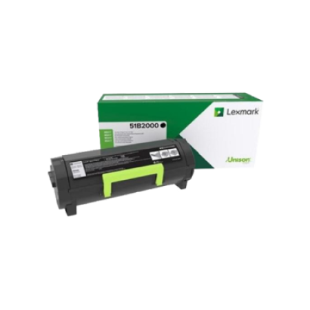 Lexmark 51B2000 Black Return Toner Cartridge