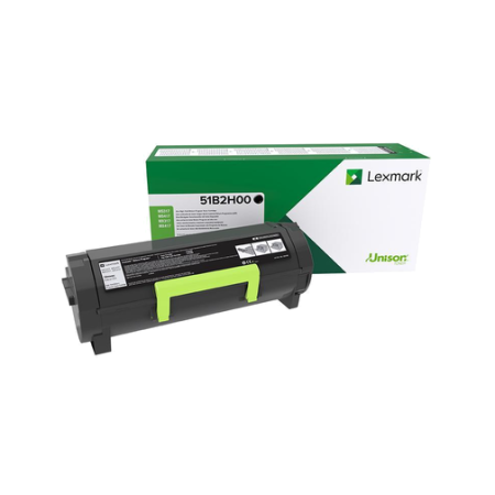 Lexmark 51B2H00 High Capacity Black Return Toner Cartridge