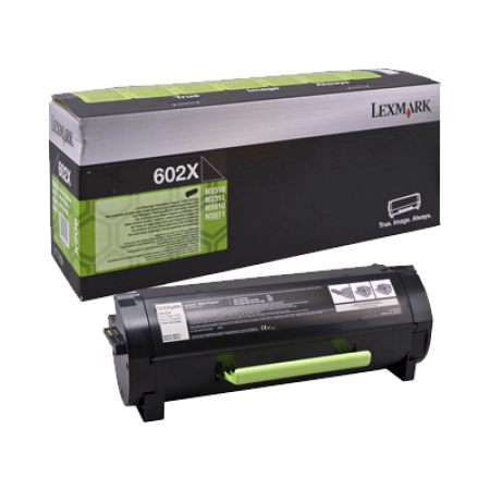 Lexmark 602X Black Extra High Capacity Toner Cartridge