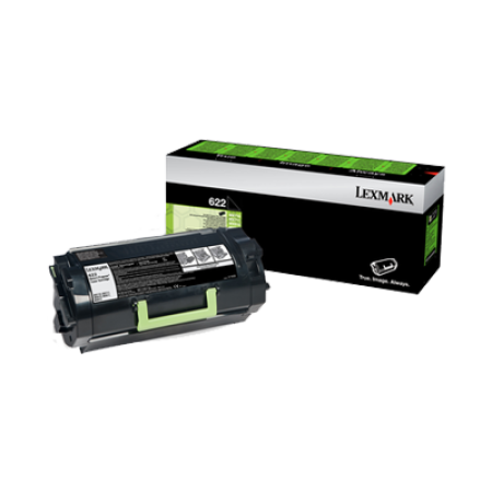 Lexmark 622 Black Toner Cartridge