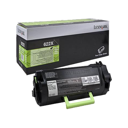 Lexmark 622X Black Extra High Capacity Toner Cartridge