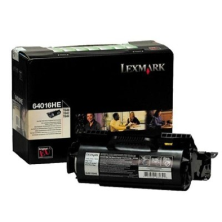 Lexmark 64016HE Return Program Black Toner Cartridge