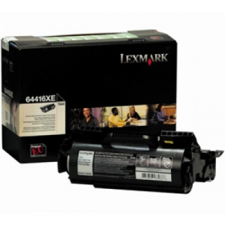 Lexmark 64416XE Extra High Capacity Return Program Black Toner Cartridge