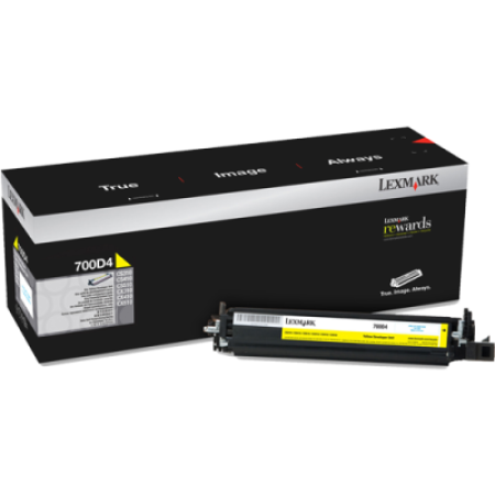 Lexmark 700D4 Yellow Developer Kit