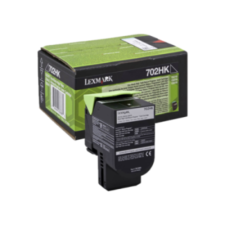 Lexmark 702HK Black High Capacity Return Toner Cartridge